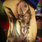 Jack . Sally ,rib ,tattoo,