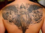 tattoo of angels,realistic tattoos